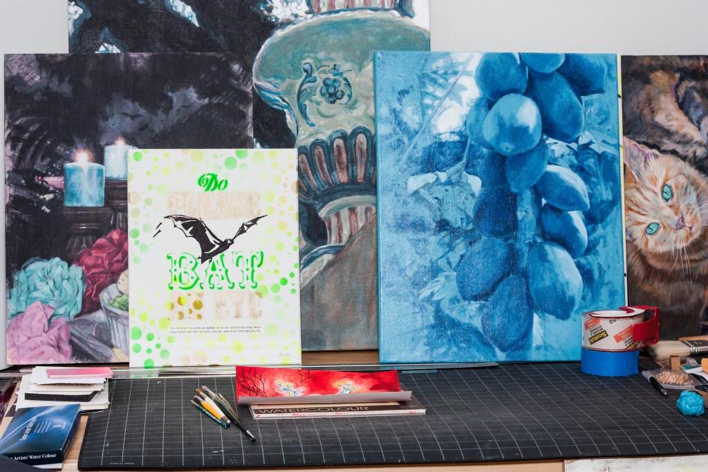 Melanie Oliva paintings_