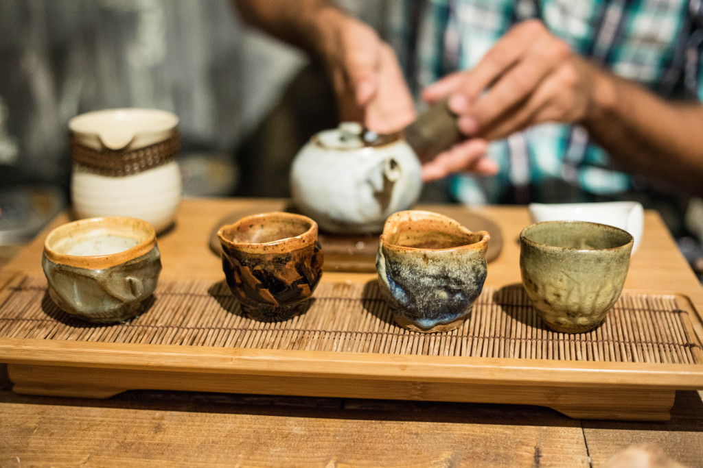 Clay Tea Cups