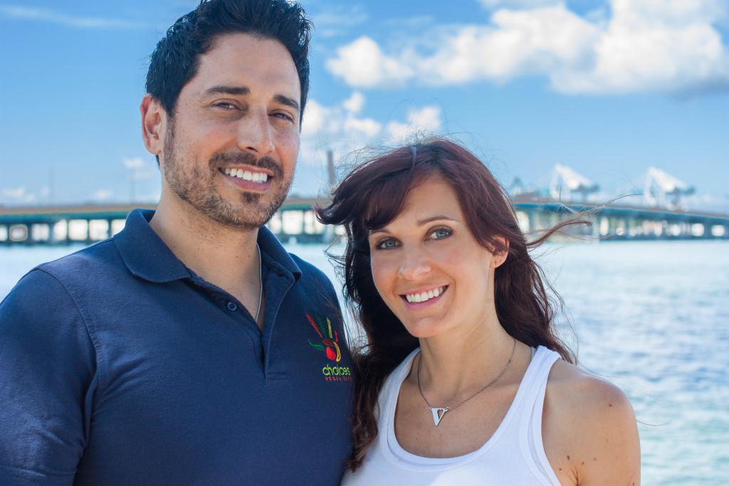 Alex Cuevas and Lori Zito