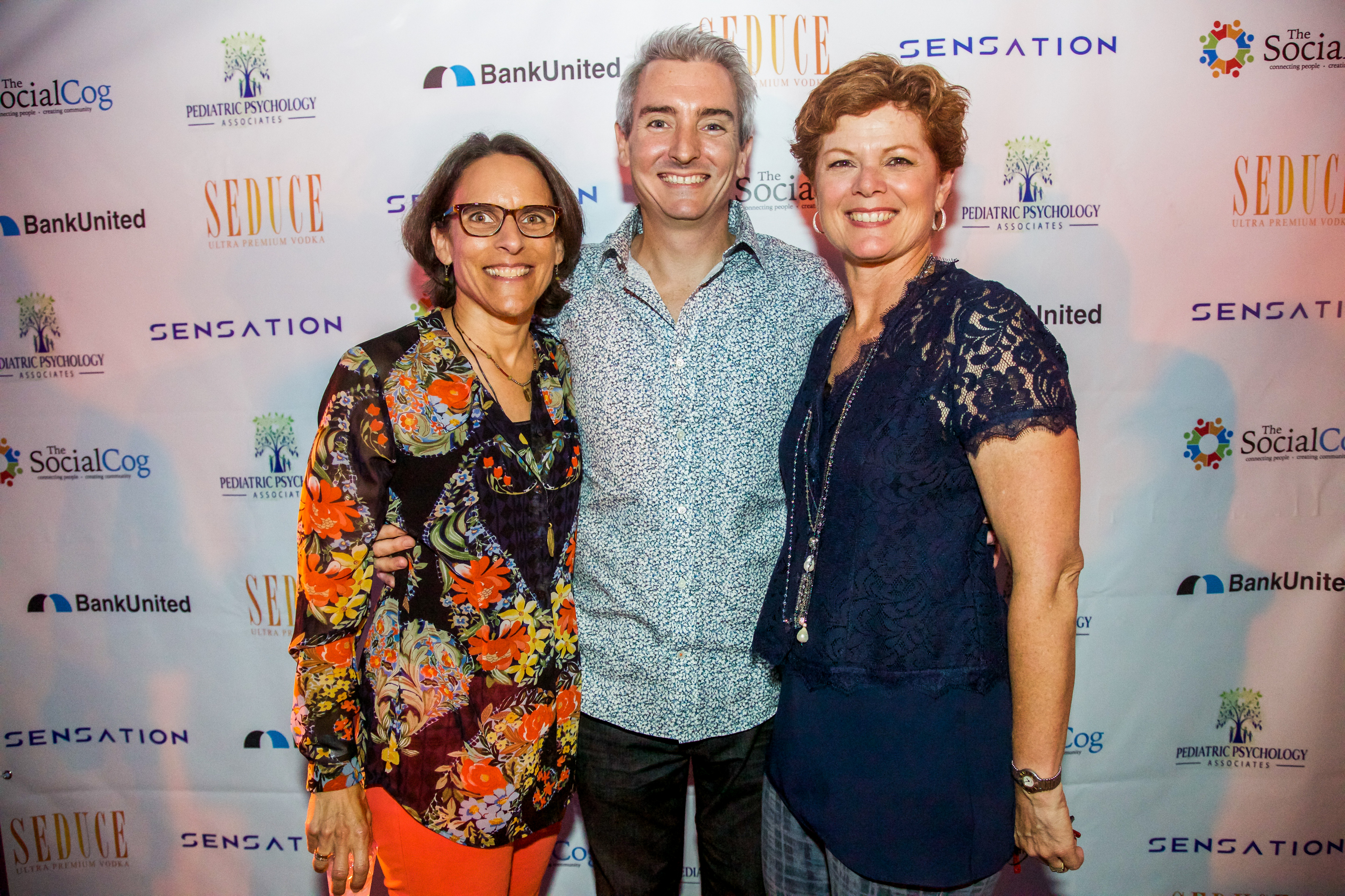 TSC Founders Natalie Davis, Nick Maccarrone, Marte Singerman